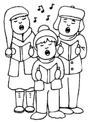 mortimers christmas manger coloring pages - photo#13