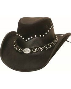 af0f6c2474c Bullhide Womens Montecarlo Back in Black Cowgirl Hat
