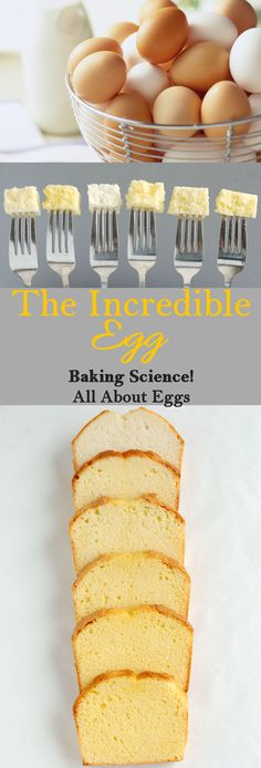 What are egg yolks and whites made of? Why do egg white whip up stiff but yolks don't? Learn all about this essential baking ingredient. Baking Science, Food Science, How To Create A Cake Recipe, Baking School, Different Cakes, Baking With Kids, Just Cakes, Bakery Recipes, Cake Decorating Tips