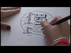 Hand Lettering: A Step By Step Guide to Layouts - YouTube