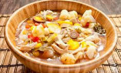 Recipe | Chicken and Vegetable Soup | Elimination Diet Tip: Omit bell pepper if avoiding nightshades