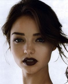Miranda Kerr hair and make up to die for Makeup Inspo, Makeup Inspiration, Makeup Tips, Hair Makeup, Eyebrow Makeup, Makeup Geek, Dark Lipstick Makeup, Makeup Ideas, Burgundy Lipstick