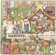 Nativity By @Dawn Inskip