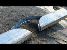 Teknik bending besi hollow manual 1/2 lingkaran - YouTube