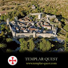 La Couvertoirade, Aveyron, France...   http://www.templar-quest.com/photographs.htm   ...    The Templars built the fortress here during the 12th and 13th centuries, under the Commandery of nearby Sainte-Eulalie, Following the Templars dissolution in 1312, Templar property in France was taken by the Hospitallers (Knights of St John of Jerusalem). The Hospitallers were responsible for building the curtain wall at La Couvertoirade between 1439 and 1450.