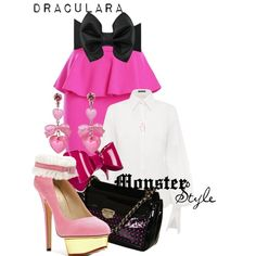 """Monster Style : Draculara"" by missm26 on Polyvore"