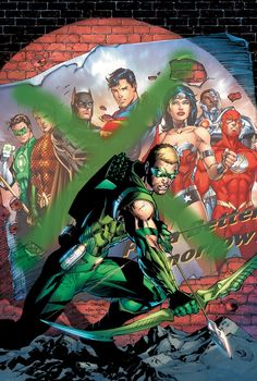 Arrow heroes and villains book