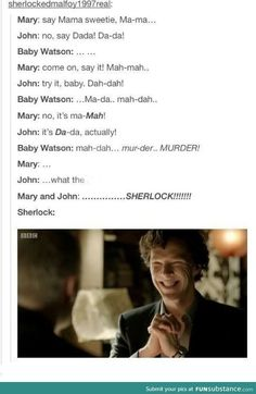 BBC Sherlock funny though . in the original sherlock SPOILER (maybe) Mary d . - BBC Sherlock funny though …. in the original sherlock SPOILER (maybe) Mary di … – Funny – # - Sherlock Fandom, Sherlock John, Sherlock Quotes, Jim Moriarty, Watson Sherlock, Sherlock Holmes Funny, Sherlock Humor, Supernatural Fandom, Sherlock Season 4