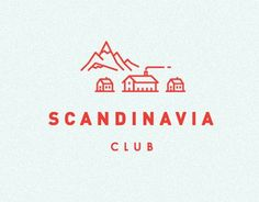 Illustrations and T-shirt designs for Scandinavia club, Moscow.