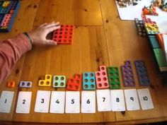 ▶ Numicon for Counting in 2's, 5's and 10's - YouTube