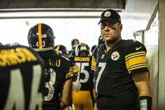 Ben pregame Here We Go Steelers, Steeler Nation, Pittsburgh Steelers, American Football, Football Team, Big Ben, Nfl, Champion, Ben Roethlisberger
