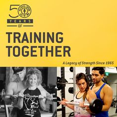 Then and Now… 50 Years Of Training Together #swolemates #fitcouples