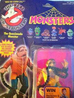 Rare 1984 Real Ghostbusters Action Figure - Quasimodo Monster by VinylRocket #TrendingEtsy