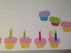 Fødselsdagskalender lavet m. 1. Kl. Taget som inspiration fra pinterest. De er så flotte i klassen og børnene elsker dem.