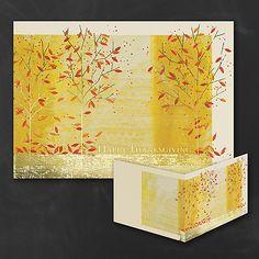 Season's Beauty Foliage Personalized Thanksgiving Greeting Cards http://partyblockinvitations.occasions-sa.com/Holiday/Thanksgiving-Cards/YM-YMM0381-Seasons-Beauty.pro