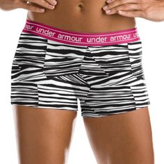 Zebra Under Armor Spandex!