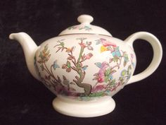Vintage Teapot Tea set in Indian Tree pattern by by MusesVintage