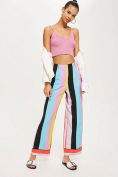 Rainbow Slouch Trousers