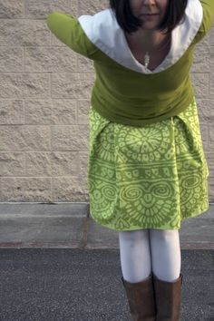 Make Yourself A Box Pleat Skirt!