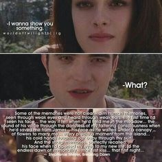 No matter what everyone says I still love twilight❤❤and the first time he held her at meadows. This saga is all my school life. I relive my last year in school through this. Love you Stephanie Meyer Twilight Saga Quotes, Twilight Saga Series, Twilight Cast, Twilight Breaking Dawn, Twilight New Moon, Twilight Series, Twilight Movie, Jasper Twilight, Twilight Poster