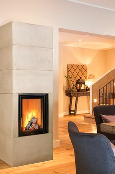 Brunner system ovens BSO A compact storage heater like the BRUNNER BSO is the perfect accessory for every dinner. Fireplace Design, Fireplace Ideas, Living Room Interior, Home Projects, Beautiful Homes, New Homes, House Design, Interior Design, Architecture