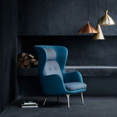 Ro armchair by Jaime Hayón  for Republic of Fritz Hansen. This is a prime example of why I love furniture so much...HOW fabulous is this chair!