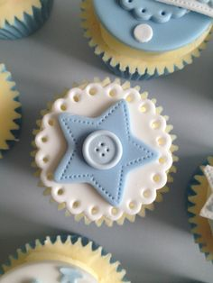 34 trendy Ideas for cupcakes originales baby shower Baby Boy Cupcakes, Baby Cupcake, Cupcakes For Boys, Baby Shower Cakes For Boys, Baby Cookies, Fondant Cupcakes, Baby Shower Cupcakes, Cupcake Cakes, Cupcake Toppers