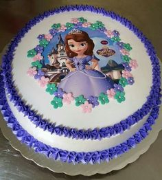 Sofia The First Birthday Cake, Princess Sofia Cake, Cake Business, Cakes For Men, Catering Services, Baby Party, Fondant Cakes, Baby Shower Cakes, Toddler Activities