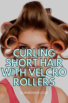 Short hair doesn't have to be short on style. One totally under-appreciated beauty tool is the velcro roller. Velcro  rollers are inexpensive and come in different sizes that will fit any hair length, even your short hair! Whether you want to add volume or have fun, funky curls, you'll find success without damaging your hair. Stop selling yourself short and check out these tips on how to use velcro rollers on short hair. #curls Damp Hair Styles, Short Hair Styles, Velcro Rollers, The Ordinary Skincare, How To Curl Short Hair, Hair Falling Out, Let Your Hair Down, Soft Curls, Makeup Forever