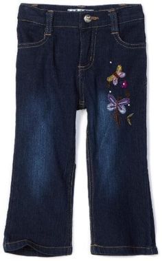 Pink Angel Baby-girls Infant Skinny Straight Jean