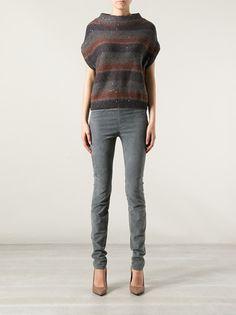 BRUNELLO CUCINELLI - striped embellished sweater 7