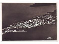 ÅLESUND. Flyfoto, 1950-talet.