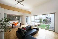 中庭・和室のある平屋建ての家・間取り(愛知県一宮市) | 注文住宅なら建築設計事務所 フリーダムアーキテクツデザイン
