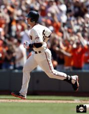 Home Run trot for Buster Posey #SFGiants