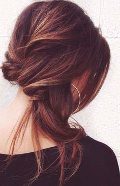 Easy way to style your hair on party