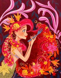 Neysabove Disney La, Disney Songs, Cute Disney, Disney Nerd, Disney Pixar, Disney Fan Art, Disney Girls, Disney Animation, Mermaid Disney