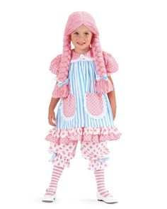A or E - pastel rag doll girls costume Costumes For Sale, Halloween Costumes For Girls, Diy Costumes, Costume Ideas, Halloween Tricks, Funny Halloween, Halloween Ideas, Poppy Costume, Doll Costume