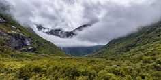 Cloudy Day in the Mountains - A cloudy day in Briksdalen in Norway.