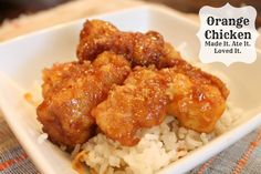 Delicious and easy Orange Chicken - classyclutter.net