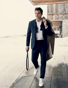 Roger Federer - GQ magazine