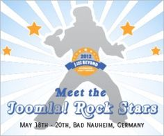 J and Beyond, an International Joomla® Conference in May 18th - 20th, 2012, Bad Nauheim, Germany is coming and the deadline for submitting proposals for sessions is on 1st April.