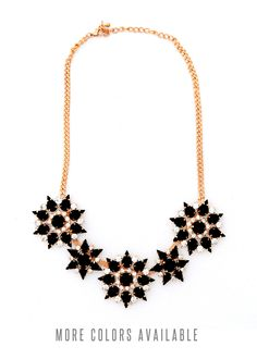 Flower Necklace – Teal House Collection
