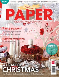 Made in Paper printables and templates - Papercraft Inspirations--Free Christmas Papers