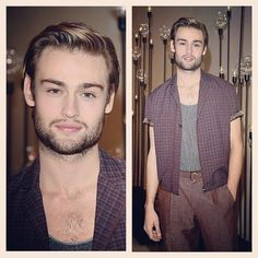 Spotted: Douglas Booth in Miami at the W magazine evening wearing Ferragamo garments we altered http://instagram.com/p/wjbb3AMBE_/