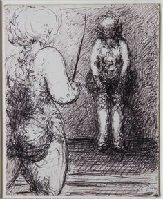 Malcolm McKesson: Young Man Being Prepared For Marriage, ca. Outsider Art, Preparing For Marriage, Art Brut, Human Condition, Timeline Photos, Abstract Expressionism, Easy Drawings, The Outsiders, Fantasy