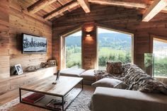 The finest luxury villa, luxury chalet & apartment rental service : Eden Luxury … Die feinste Luxusvilla, Luxuschalet & Apartmentvermietung: Eden Luxury Homes Cabin Homes, Log Homes, Chalet Chic, Rustic Bedroom Design, House Goals, Rental Apartments, My Dream Home, Future House, Luxury Homes
