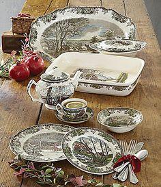 Johnson Brothers Friendly Village Dinnerware Collection #Dillards