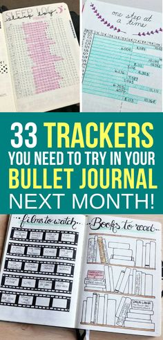 Your bullet journal can be used for so much more than just keeping track of your to do list. Get inspired by these bullet journal spreads you need to try next month!