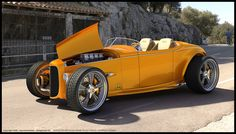 Hot Rods - Not another Ford. Hot Rods, Ford Motor Company, Classic Hot Rod, Classic Cars, Hot Rod Autos, 32 Ford Roadster, Car Ford, Factory Five, Hot Rod Pickup