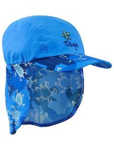 Cappellino da legionario per bambino che blocca il 98% dei raggi UV nocivi. Ideale per la spiaggia, per le passeggiate o per il gioco. Taglie da 45 cm a 55 cm.  Su Solar Wear! #cappellino #tugasunwear